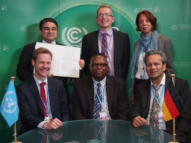 MoU signing with the UNFCCC